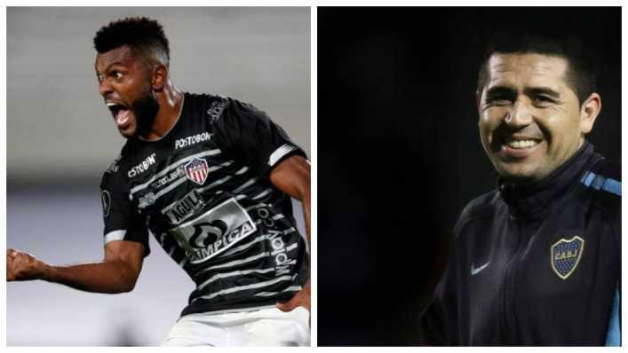 Riquelme podría acercar a Borja a Boca