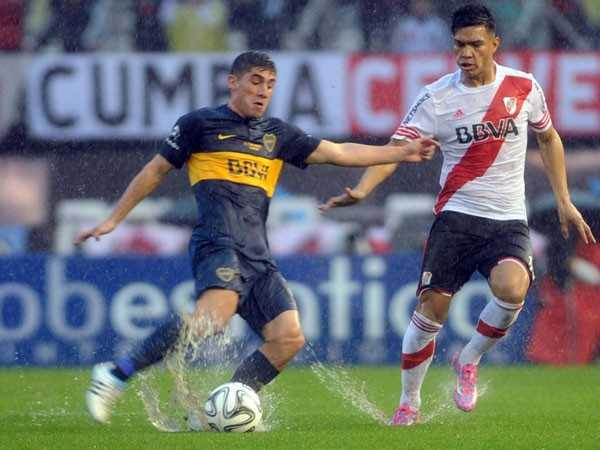 River Plate 0-1 Boca Juniors al descanso