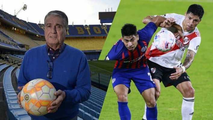 Rojitas se burló del error de Enzo Pérez en River-San Lorenzo
