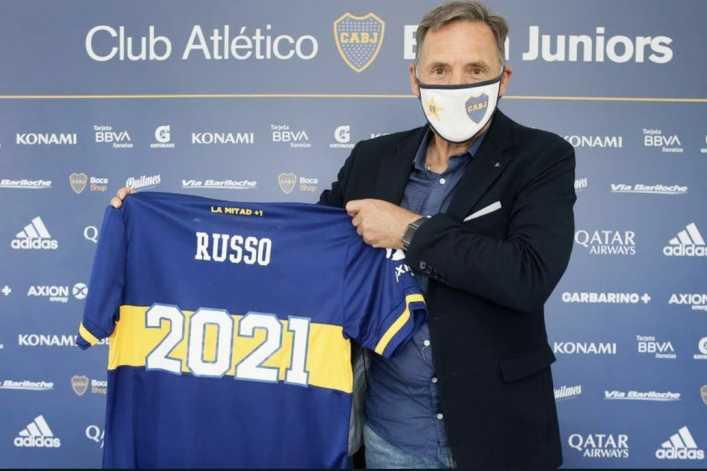 Russo 2021: Boca le renovó el contrato al entrenador que siempre fue la primera opción de Riquelme