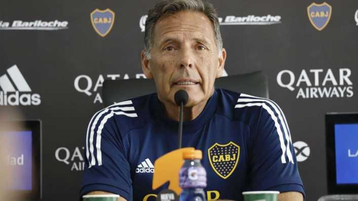 Russo sigue con la mano firme y piensa en dejar apartado a un nuevo jugador de Boca