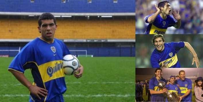Tévez tuvo que elegir entre: Riquelme, Palermo o los colombianos