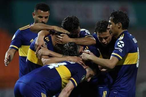Toto Salvio acerca a Boca Juniors a octavos y hunde al Medellín