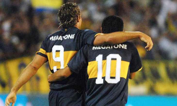 Un histórico de Boca contó intimidades del vestuario y la pelea entre Riquelme y Palermo