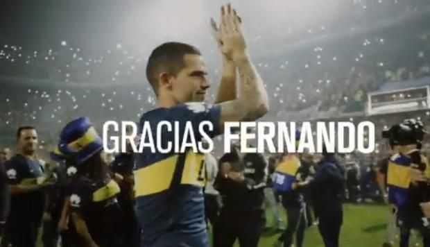 VIDEO: Boca Juniors despidió a Fernando Gago con emotivo video