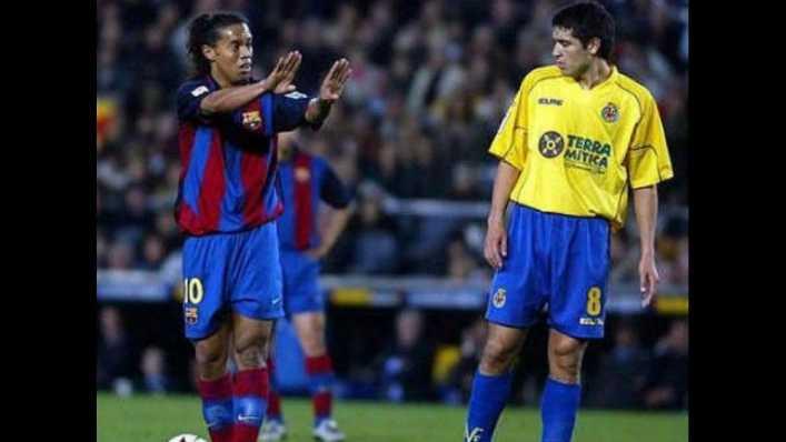 VIDEO: El día que Ronaldinho no pudo con Riquelme