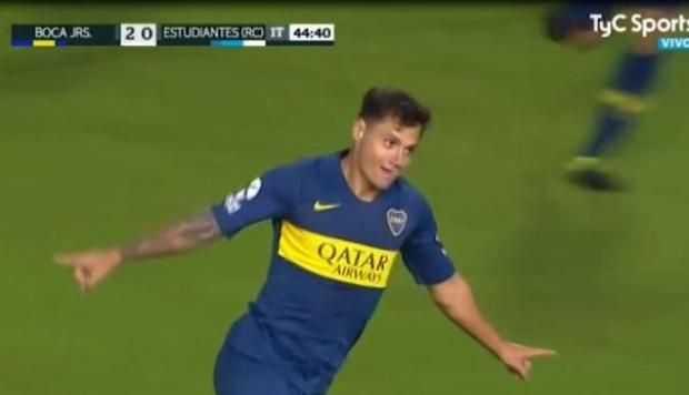 VIDEO: El golazo de Mauro Zárate ante Estudiantes