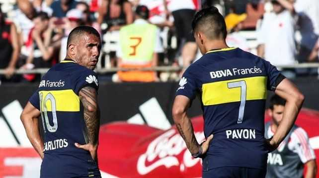 VIDEO: La dura recriminación de Tevez a Pavón