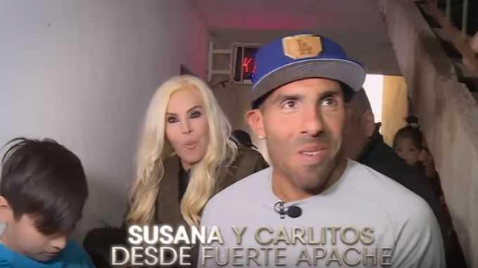 VIDEO: Susana Gimenez publicó adelanto de su especial con Tévez