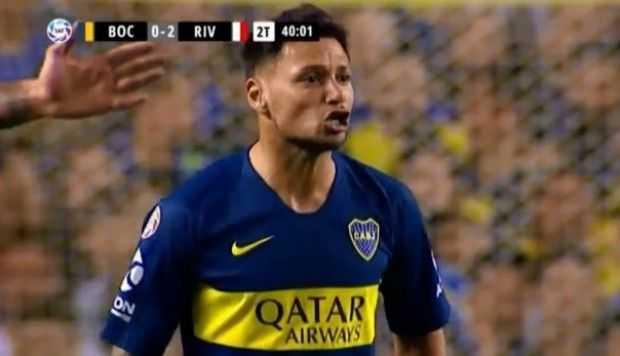 VIDEO: Zárate insultó a Cardona en pleno duelo Boca-River