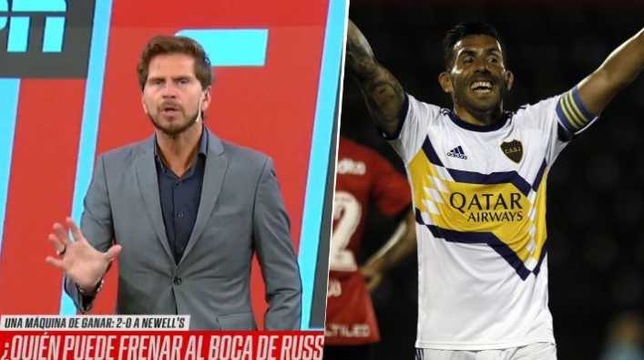 Vignolo dijo que Tevez merece ser convocado a la Selección Argentina