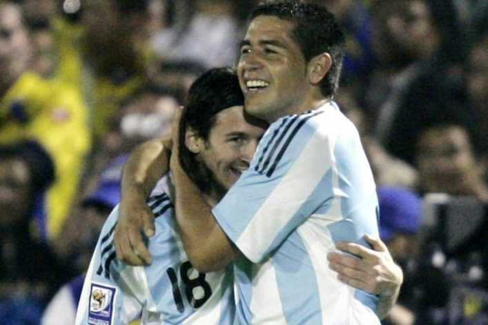 VIDEO: Riquelme vs Messi