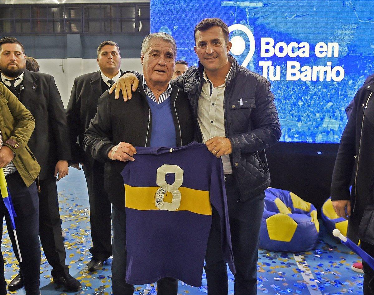 """""""Yo y Riquelme fuimos los mejores de la historia de Boca"""""""