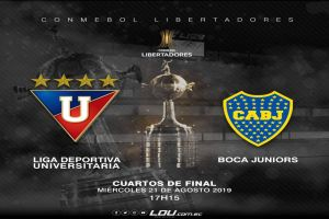 Liga de Quito vs Boca Juniors