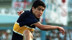 ¿recordas el debut de riquelme en boca juniors?